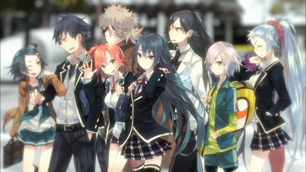 Yahari Ore no Seishun Love Come wa Machigatteiru.(Display Pic)