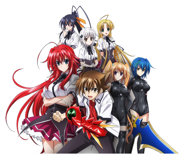 High School DxD New(Display Pic)